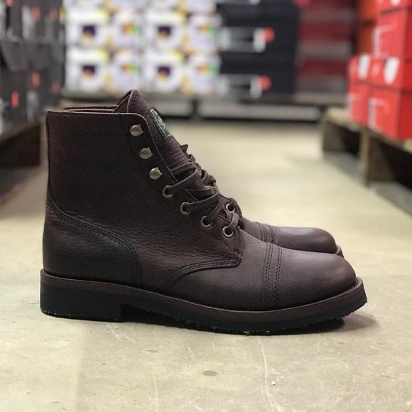 3d12e01fa6d Polo Ralph Lauren Mens Enville Leather Boots Sz 11